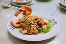 Trio Seafood (Prawn, Fish and Sotong)	三鲜