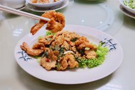 Trio Seafood (Prawn, Fish and Sotong)三鲜