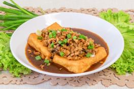 Signature Braised Homemade Beancurd  招牌家常豆腐