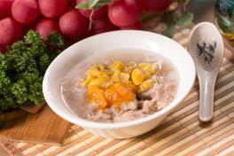 Teochew Yam Paste with Pumpkin and Gingko Nuts 金瓜福果芋泥