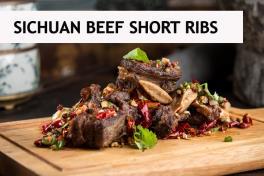 Sichuan Rub Braised Short Ribs 香辣牛排