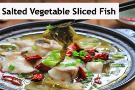 Salted Vegetables & Fish Slices In  Soup (Less Spicy)