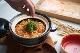 Sakura Ebi Claypot Rice
