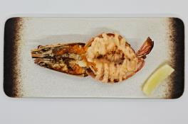Grilled Lobster and Jumbo Ebi