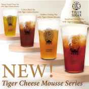 [NEW] Tiger Cheese Mousse Series