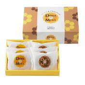 "Doux Miel ""Sweet Honey"" Cakes - Box of 6 pieces"