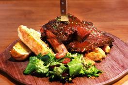 Garlic BBQ Beef Ribs