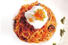 Oriental Crabmeat Pasta