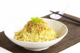 双银炒饭Fried Rice with Silver Fish & Bean Sprout