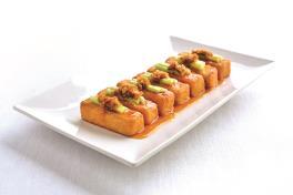 至尊豆腐Handmade Beancurd with Chef's Sauce (Per Order 6 pcs/每份 6片)