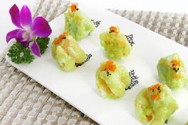 芥末虾球 Wasabi Deshelled Prawn (3 粒/3 pc)