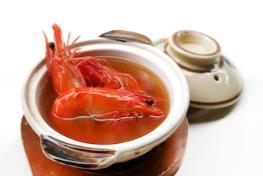 游水药材醉虾Live Drunken Prawn with Herbal Soup