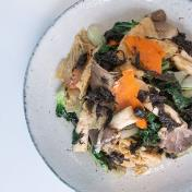 Fresh Mushrooms with Specialty Olive Sauce <br> 橄榄酱炒鮮菇