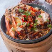 "STEAMED SEAFOOD MENU 海鲜""蒸""好吃"