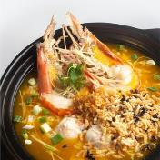 Big Head Prawn & Lobster Ball Porridge 虾虾浓粥