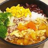 R7 Tomato Egg Rice (contains egg) 番茄蛋饭 (Non Vegan)