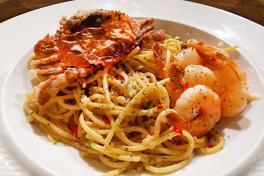 Maui Waui Spaghetti Aglio Olio