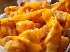 Cheese Fries (Crinkle cut) ❤️