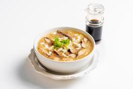 Thai Style Fish Maw Soup with Crabmeat