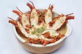 龙虾粥 Live Lobster Porridge