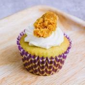 Mini Pandan Coconut Gula Melaka Cupcake