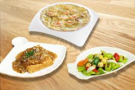 BEANCURD / OMELETTE / VEG 豆腐/蛋饼/菜