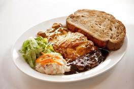 Chicken Steak (Pepper/Mushroom/BBQ Sauce)