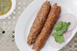 Mutton Seekh Kebab (2 pcs)