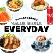 VALUE MEALS EVERYDAY - NEW
