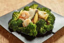 Broccoli with Seafood