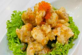 CNY04A Fried Shrimp in Roasted Sesame Sauce 日式芝麻酱美味虾 (Small/小)