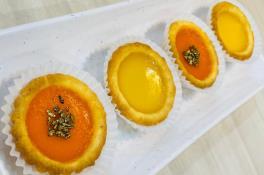 CNY01 Double Happiness 双喜挞 (2 Baked Rice Cake Tarts 年糕挞 & 2 Egg Tarts 蛋挞) (4 pcs / 件)