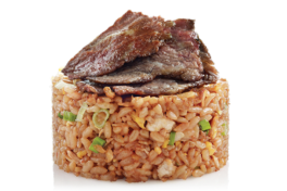 SHANGHAI FRIED RICE <br> with Braised Beef