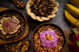 Chia Pudding and Coconut Yoghurt Bowl