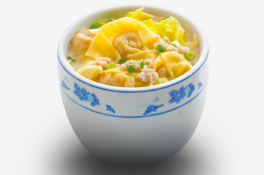 Teochew Dumplings Soup