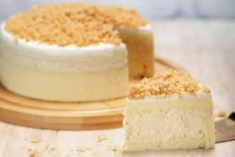 MSW DURIAN MOUSSE CAKE