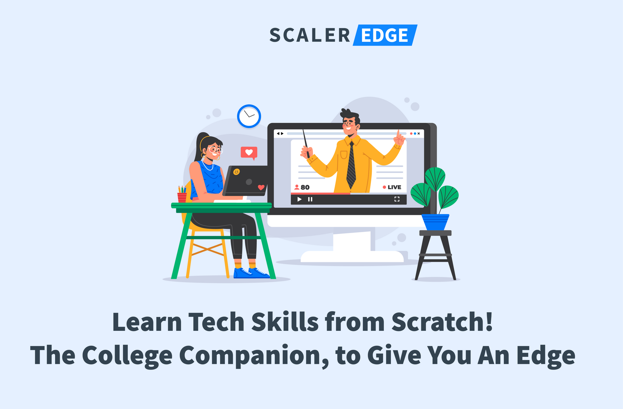 InterviewBit launches Scaler Edge, a first of its kind college-companion program to boost the employability of engineering graduates