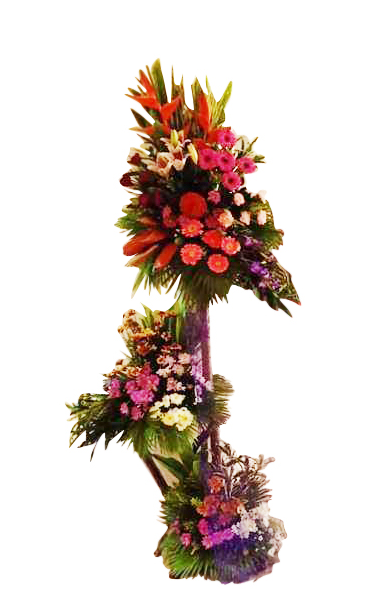 3 Layered Inaugural Flowers
