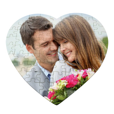 Personalized Heart Puzzle