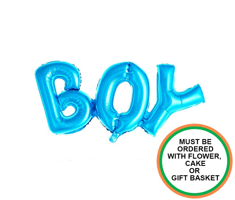 Blue Boy Baby Balloon