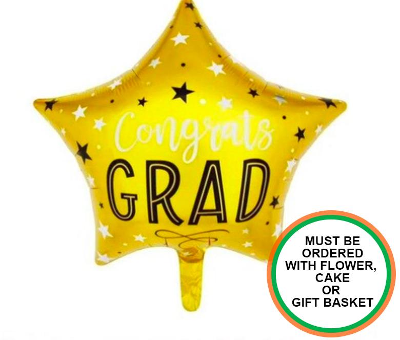 Congratulations Star Balloon