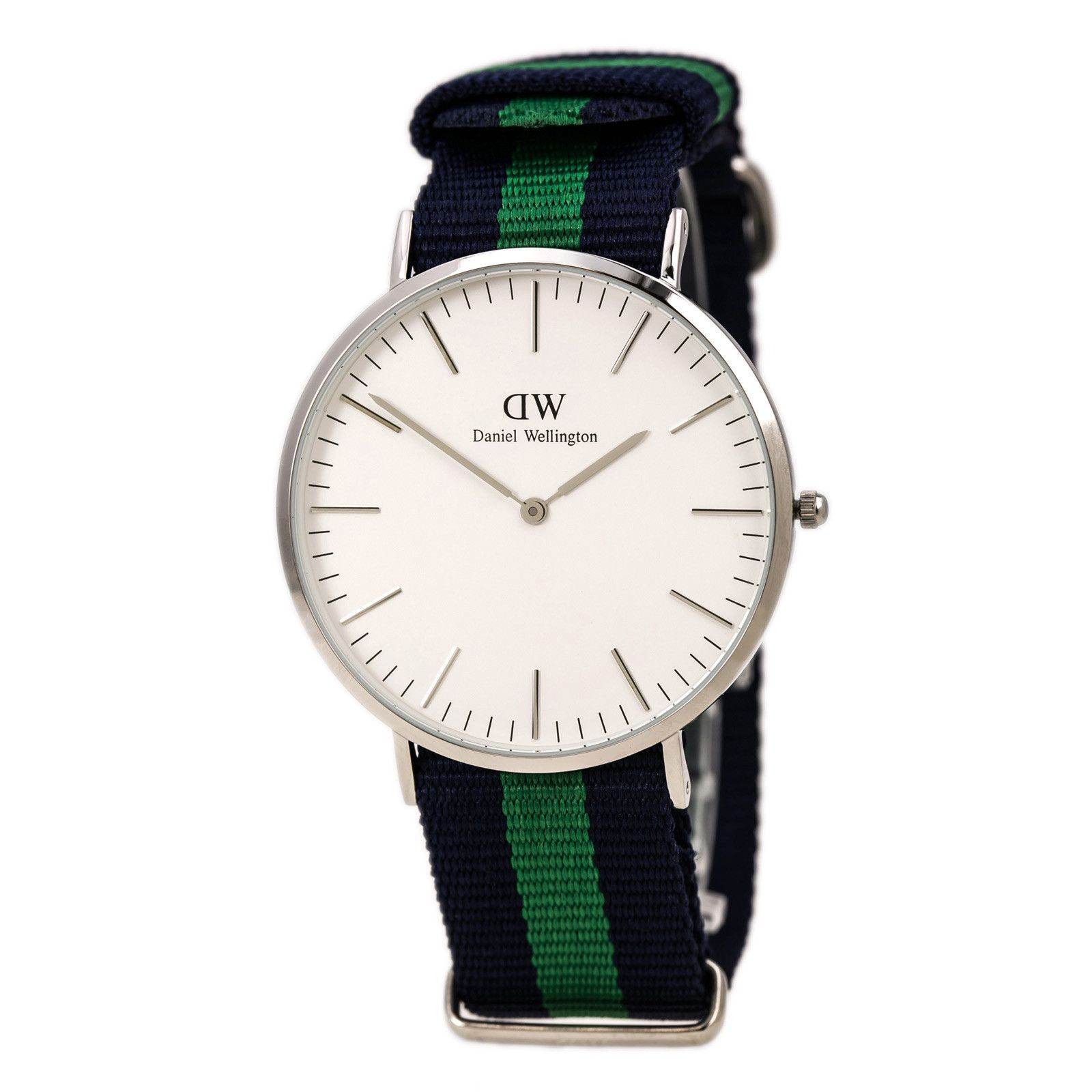 Daniel Wellington Classic Warwick Green and Blue