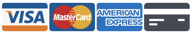 Accepting Visa, Mastercard, Discover and American Express