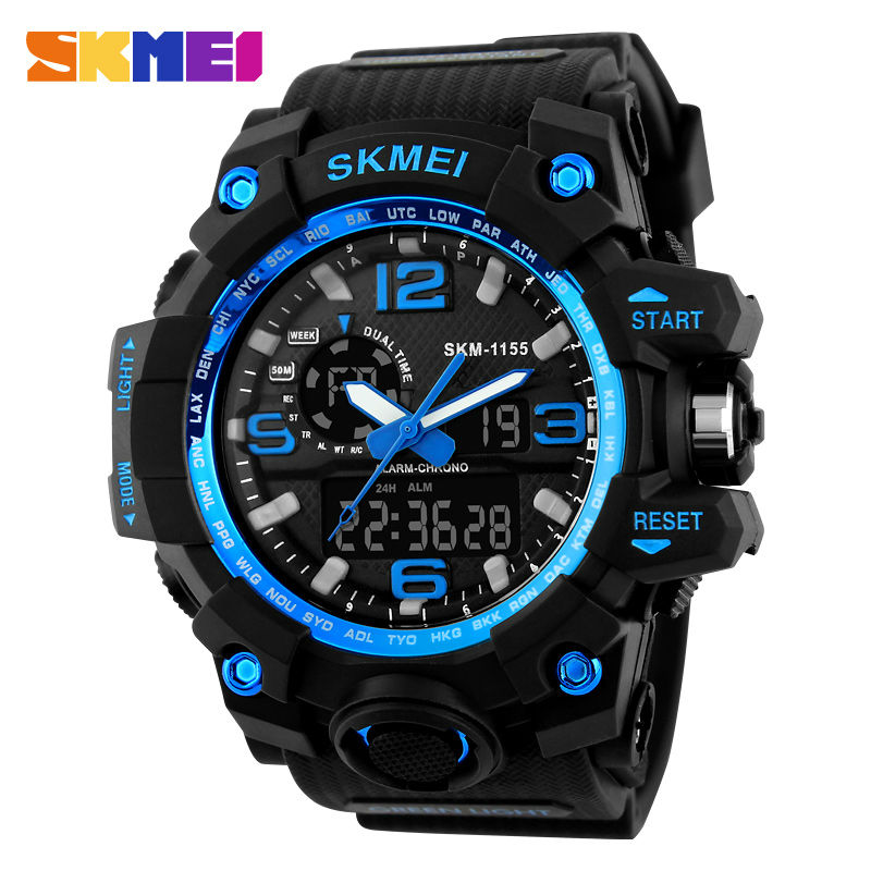 SKMEI Blue Sports Watch