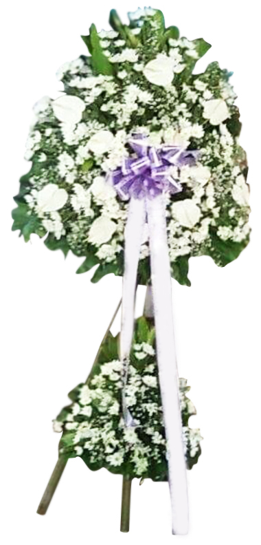 White Condolence Flowers
