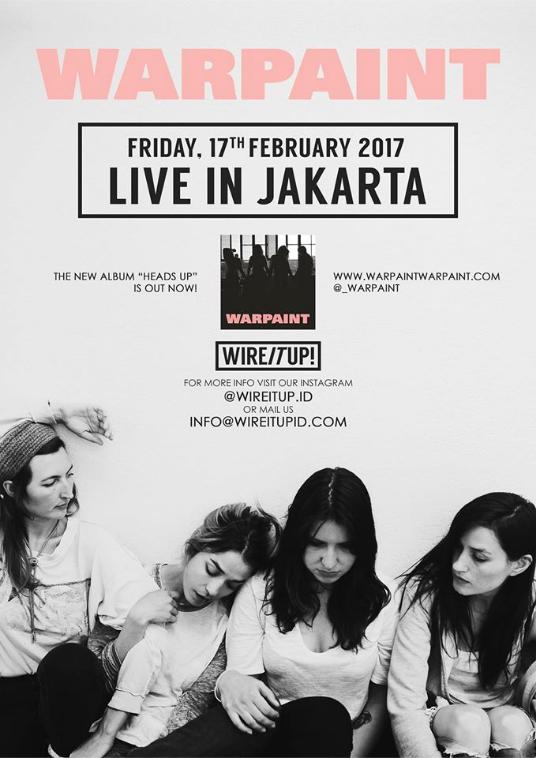 Warpaint live in Jakarta