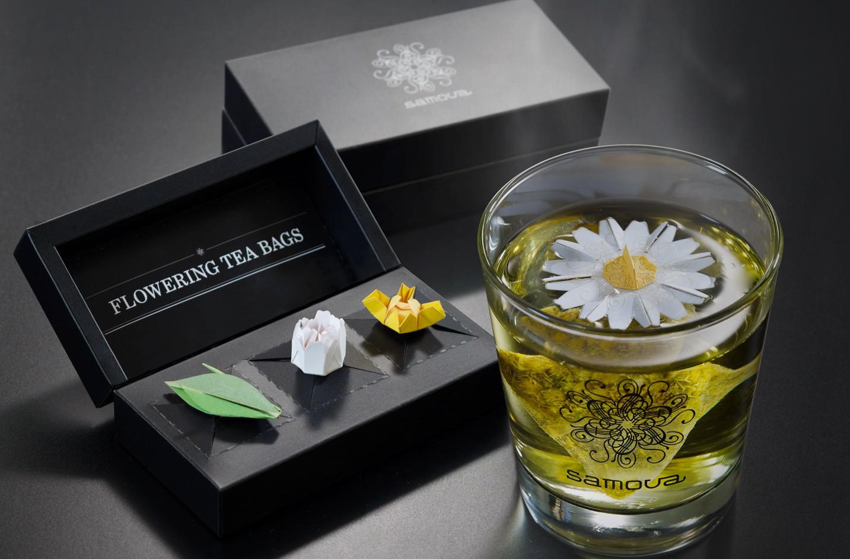 Samova flowering teabag