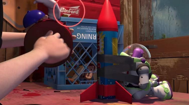 迪士尼TOY STORY隱藏彩蛋12個盤點胡迪、巴斯光年