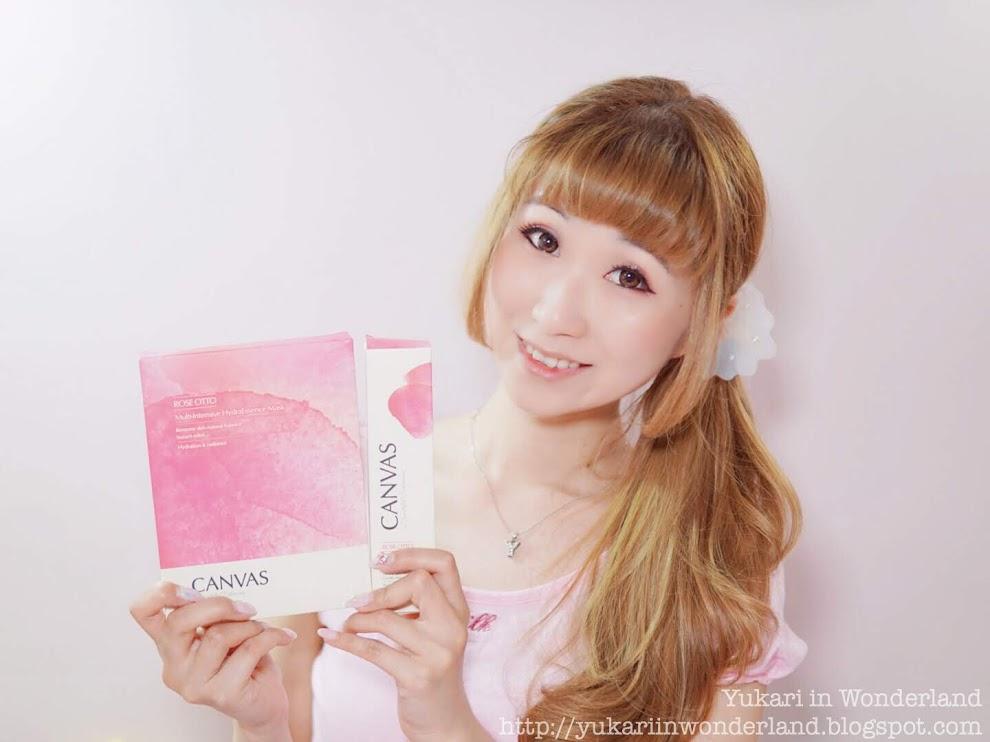 ♡ 護膚 ◆ 一片難忘, 敷極不乾的玫瑰面膜 ◆ CANVAS 玫瑰高效保濕精華面膜 ♤