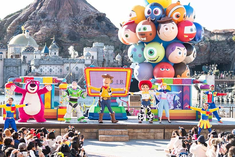 東京迪士尼樂園表演Youtube線上免費看
